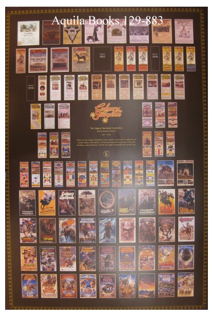 Aquila Books Original Calgary Stampede Posters Menus