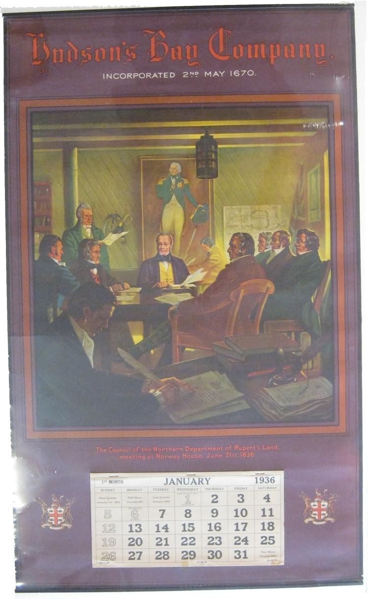 Aquila Books - Original Hudson's Bay Company Calendars Publications